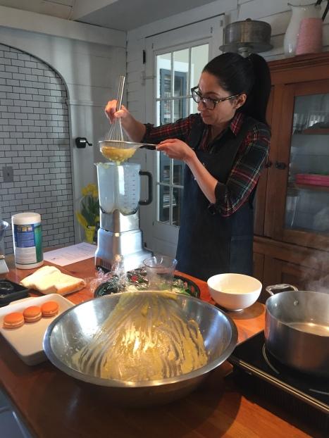 Lemon Cream Demonstration