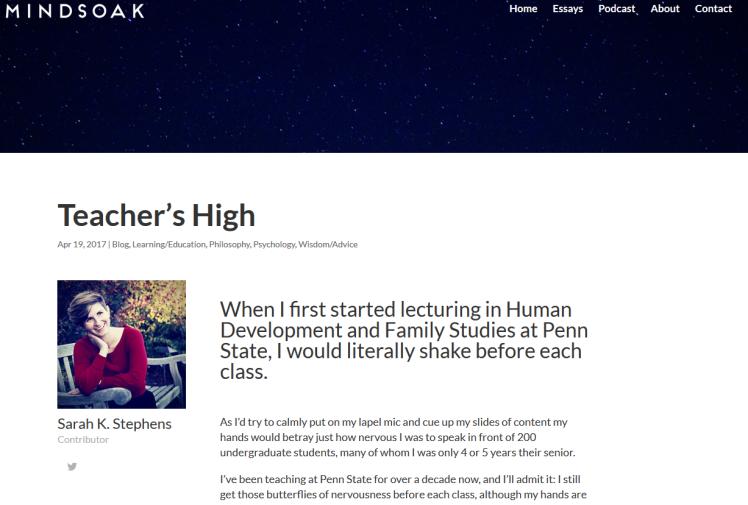Mindsoak Teaching